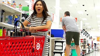Farting on People at Target with Long Farts - THE POOTER
