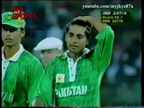 Aqib Javed 5-61 vs India + Inzamam Greatest DIVING Catch at Chennai 1997