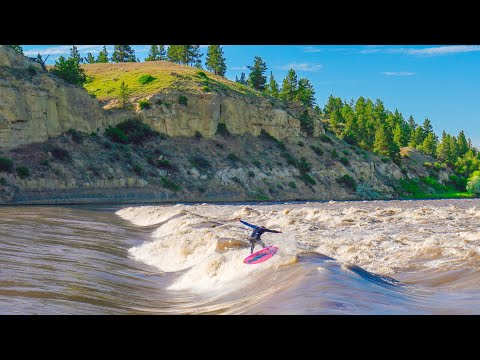 DID WE JUST SURF THE BEST RIVER WAVE EVER?! (TOP SECRET)