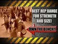 Best Rep Range To Build Size & Strength With The Bench Press