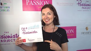 The Passionistas Project at Passion to Paycheck with Chantelle Albers