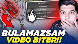 OTOMATİK SİLAH BULAMAZSAM VİDEO BİTER!! | PUBG Mobile