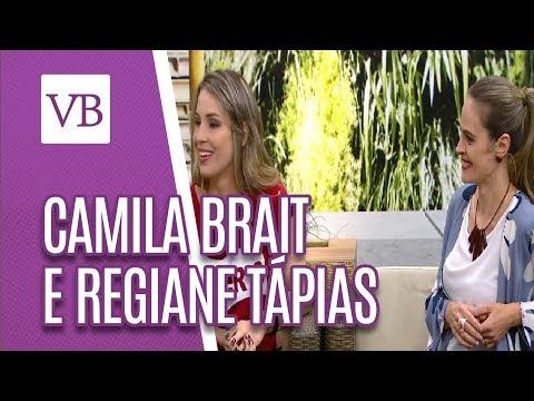 Papo Saudável: Camila Brait e Regiane Tápias - Você Bonita (11/05/18)