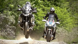 BMW R1250GSA vs. Honda Africa Twin. Which one is better? In-depth Review