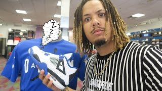 HYPED UP JORDANS ARE NOW SLEEPING !!! MOTORSPORT 4 MALL VLOG