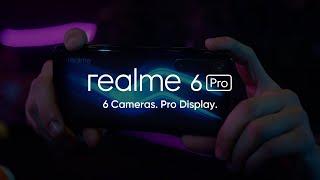 Realme 6 Pro - 6 Cameras. Pro Display   Snapdragon 720G - 04 April [In-Store]