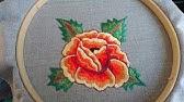 c9ce2e6b645 Bordado de flor con maquina de coser eléctrica con solo puntada ...