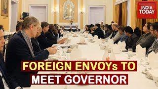 Naya Kashmir Outreach: 25 Envoys To Meet J&K Governor & Chief Justice Over Internet Restriction