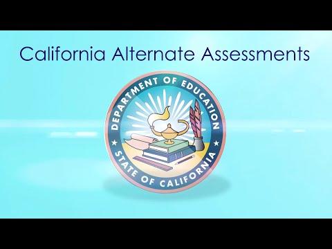 California Alternate Assessments - 2016
