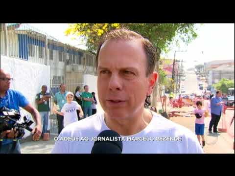 Autoridades lamentam a morte de Marcelo Rezende