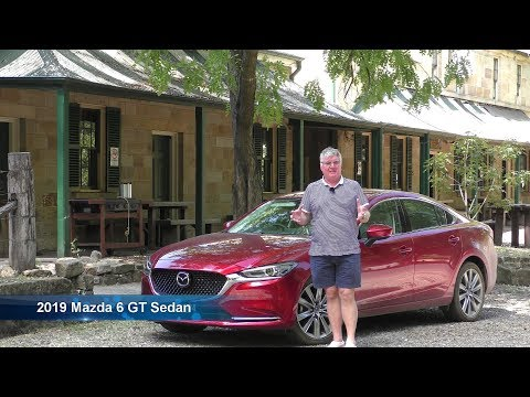 Mazda 6 2019 GT Sedan Driven In Australian OUTBACK Review And Rating