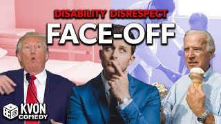 TRUMP vs BIDEN: Disability Disrespect Face-Off (Who is worse? hosted by comedian K-von)