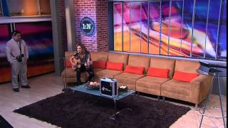 Soundcheck Alejandra Huitrón en Primero Noticias