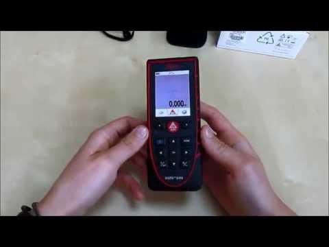 Видео Лазерный дальномер leica m8