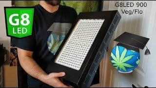 Why I Love G8LED Grow Lights - 900 Veg/Flower Model