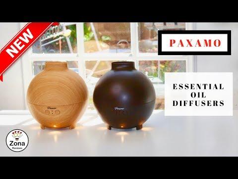 😍-paxamo-❤️-essential-oil-diffuser-600-ml---review-✅