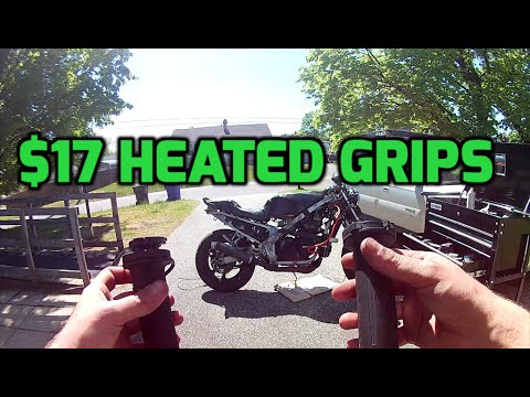 oxford heated grips installation instructions
