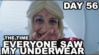 The Time Everyone Saw My Underwear (Day 56)