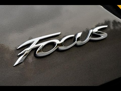 How To Emblem Decal Removal Ford Focus St Youtube