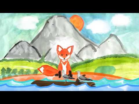 Сказка хитрая лиса корякская сказка мультфильм смотреть