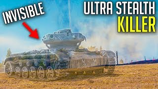 Literally Invisible Light Tank in World of Tanks | ELC Even 90 Gameplay