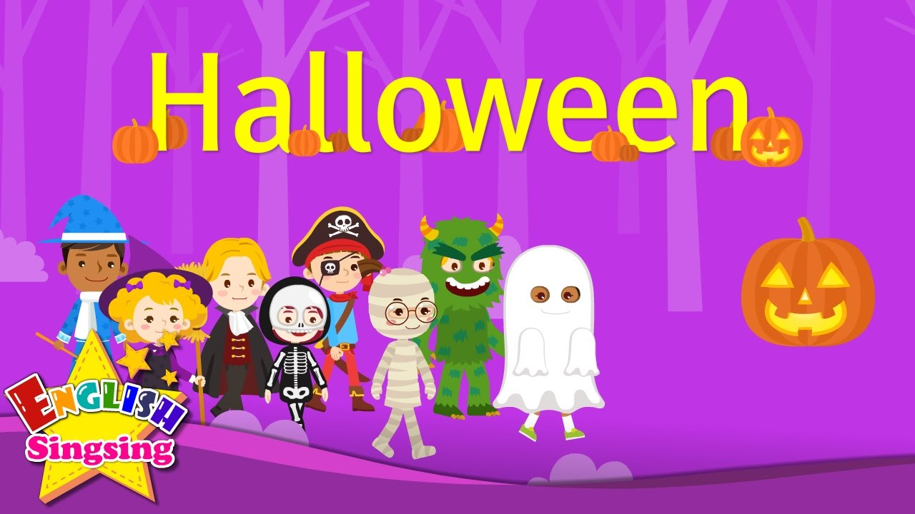 kids vocabulary halloween halloween monster costumes english educational video for kids youtube - Halloween Youtube Kids
