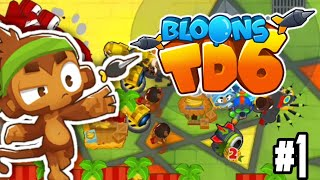 Bloons TD 6 Gameplay #1 - Cubism Hard