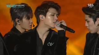 Video 161226 인피니트(INFINITE) - 태풍 (The Eye) @ 2016 SBS 가요대전 Gayo Daejun download MP3, 3GP, MP4, WEBM, AVI, FLV Agustus 2018