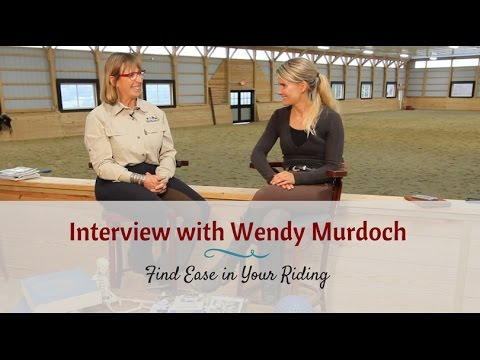"Interview with Wendy Murdoch: The Effects of Our Riding ""Patterns"""
