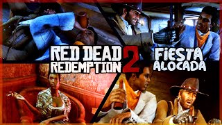 NOS EMBORRACHAMOS Y SUPER FIESTA! - RED DEAD REDEMPTION 2 #3