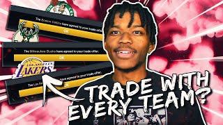 a rebuilding challenge but i have to make a trade with EVERY NBA TEAM in NBA 2K20