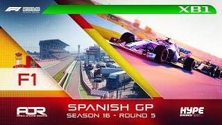 F1 2018 | AOR Hype Energy F1 League | XB1 | S16 | R5: Spanish GP