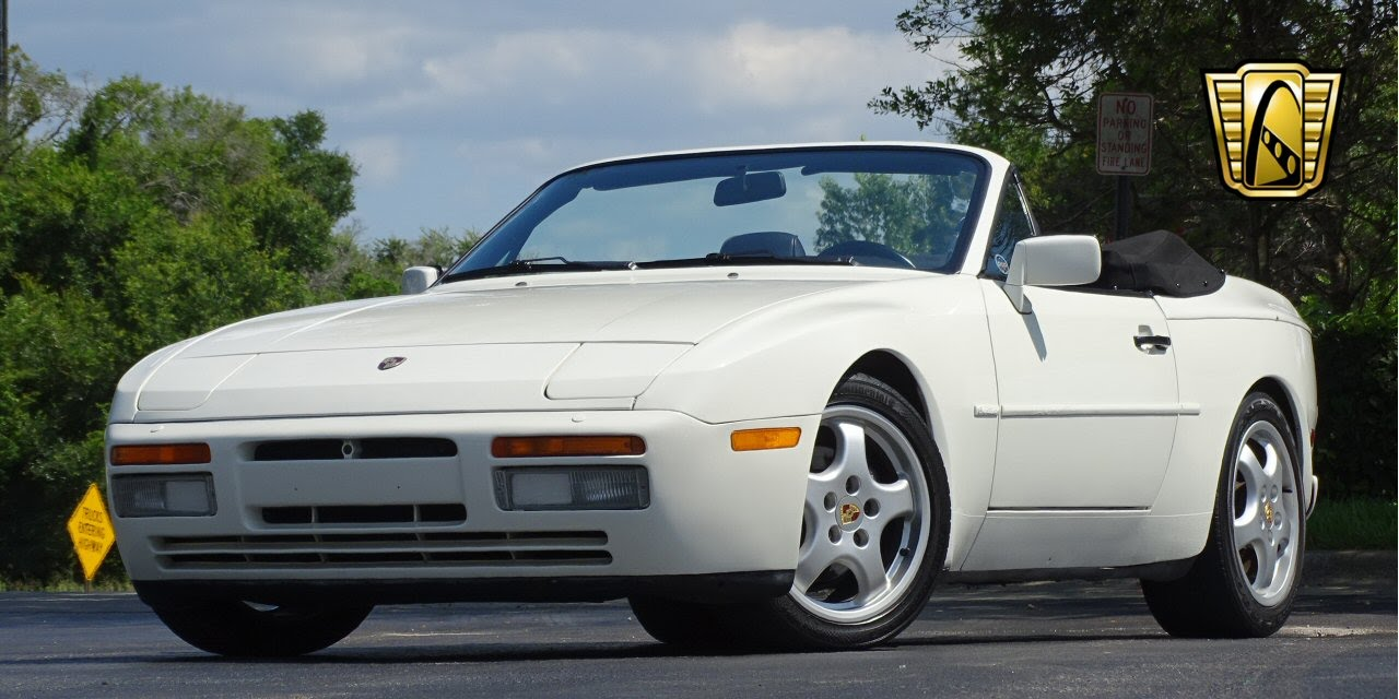 1991 porsche 944 cabriolet gateway classic cars orlando 523 youtube. Black Bedroom Furniture Sets. Home Design Ideas