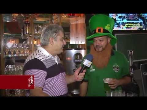 St. Patrick's Day in The Old Mc Gallagher Irish Pub