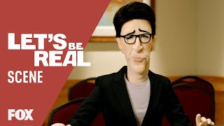 Rachel Maddow Practices Moderating | LET'S BE REAL