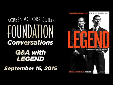 Conversations with Tom Hardy, Emily Browning and Brian Helgeland of LEGEND