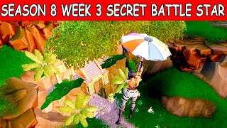 Easy Secret Season 8 Week 3 Battlestar Location Guide Discovery Challenges Fortnite Battle Royale