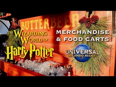 Wizarding World Of Harry Potter | Food And Merchandise Cart Tour | Universal Orlando