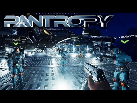 Pantropy - GROUP MISSIONS WITH 5 MECH TEAM - Let's Play Pantropy Gameplay Part 7 (Sci-fi MMOFPS RPG)