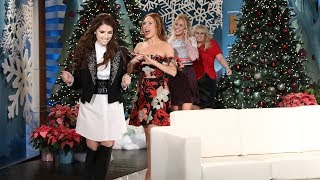 Anna Camp Takes the Bra Off Her Back for Anna Kendrick by : TheEllenShow