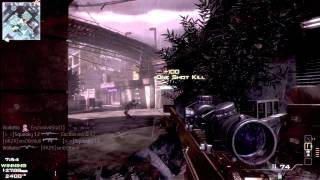 Violletto : MW3 Golden Barrett 50 cal. Montage :: Celebrating 100 videos
