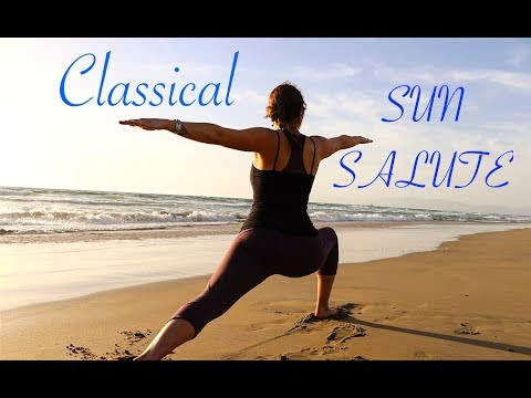 CLASSICAL SUN SALUTE & COOL DOWN | Easy Yoga Flow