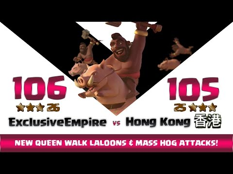 Clash Of Clans   Exclusive Empire Vs HONG KONG   26:25