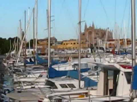 Mallorca Travel: Sailboat Harbour in Palma de Mallorca