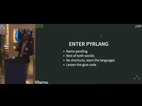 Python & Erlang -  a match made in heaven by Johan Sommerfeld/s2hc