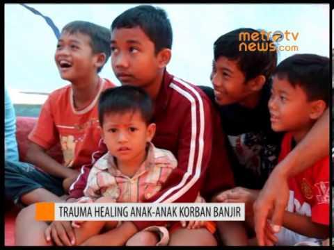 Trauma Healing untuk Anak Korban Banjir Pantura