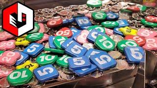 WINNING MAXIMUM TICKETS! Big Wins at Ticket Circus Arcade Game