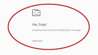 Fix Aw-Snap ging etwas schief während der Anzeige dieser web-Seite in Google chrome