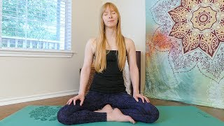 Quick Relaxation & Stress Relief Guided Meditation with Katrina, Spoken w/ Music