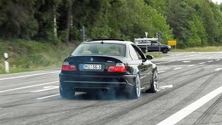 Best of BMW M Cars Leaving Nürburgring Tankstelle! BURNOUTS, DRIFTS, Lucky Moments etc!